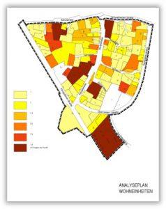 Analyseplan Wohneinheiten